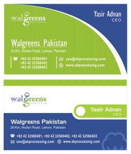 WallGreen - Pakistan
